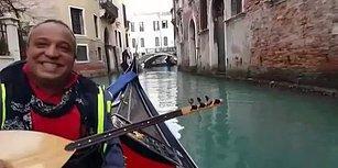 Venedik Gondollarında Tokat Türküsü: 'Başındaki Yazmayı da Sarıya mı Boyadın'