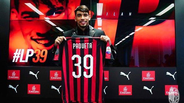 4. Lucas Paquetá: 35 Milyon Euro (Flamengo ➡ Milan)