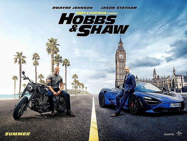 """""""Fast & Furious Presents: Hobbs & Shaw""""dan geçtiğimiz gün de bir poster yayınlanmıştı."""