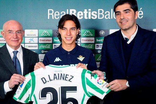 12. Diego Lainez: 14 Milyon Euro (Club America ➡ Real Betis)