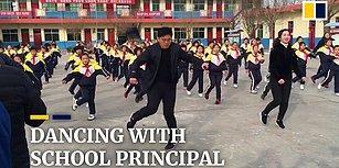 Öğrencileri Telefondan ve Bilgisayardan Uzak Tutmak İçin Boş Vakitlerinde Onlara Shuffle Dansı Öğreten Öğretmenler