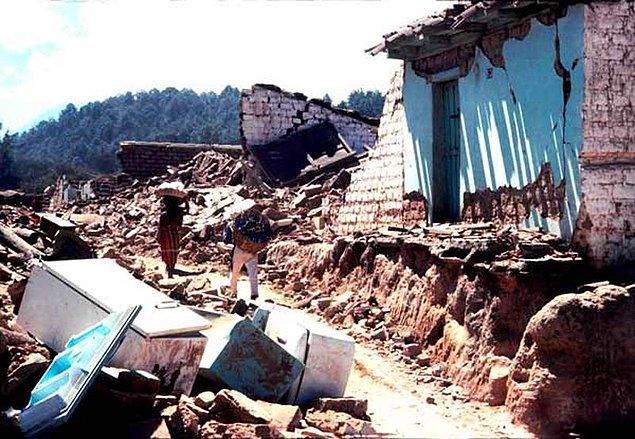 1976: Guatemala ve Honduras'taki 7,5 şiddetindeki depremde 22.778 kişi öldü.