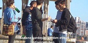 Turistlere Yardım Edilmemesi Gerektiğini Söyleyen Kişiye Türklerin Tepkisi