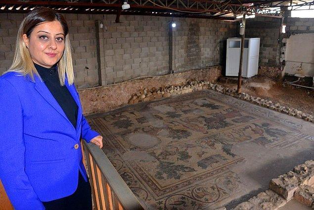 """""""Mozaiklerin Geç Roma-Erken Bizans dönemine ait olduğu tespit edilmiştir"""""""