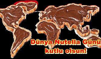 Mideniz Mutlulukla Dolsun Dünya Nutella Günü Kutlu Olsun!