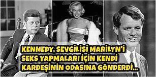 1960'lı Yıllarda Amerika'yı Kasıp Kavuran Yasak Aşk Üçgeni: Marilyn Monroe, John F. Kennedy ve Kardeşi Robert  Kennedy