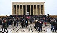Emeklilikte Yaşa Takılanlar Ankara'da: Anıtkabir'i Ziyaret Eden On Binlerce EYT'li Çözüm İçin Sesini Yükseltti