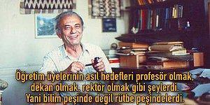 Akademi Çürüdü mü Yoksa Hep Böyle miydi? Matematik Dehası Cahit Arf'ın İstanbul Üniversitesi'ndeki Anısını Dinleyin!
