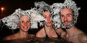 -20 Derecede Dünyanın En Güzel Donmuş Saç Modeli Olmak İçin Yarışan İnsanlar