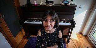 Uluslararası Ödül Almıştı: 9 Yaşındaki Arya Su, Yarışmalara Fazıl Say'ın Hediyesiyle Hazırlanacak