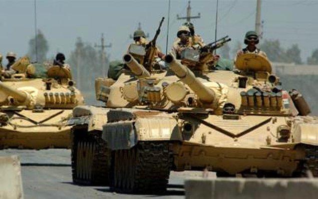 1991: Körfez Savaşı.