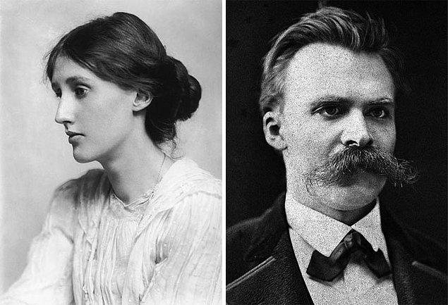 13. Virginia Woolf, Friedrich Nietzsche ve ayakta kullanılabilen masa