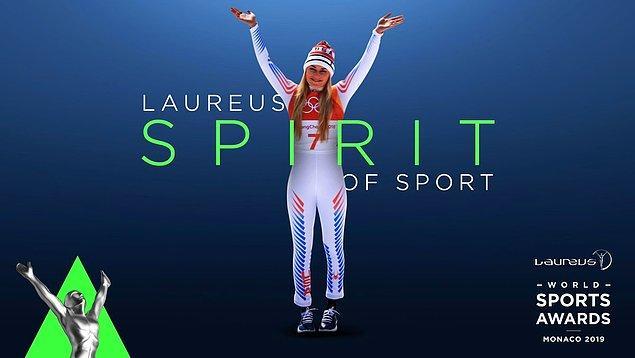 Spor Ruhu Ödülü: Lindsey Vonn