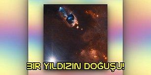 Mucizelere Tanık Oluyoruz! NASA, Hubble Teleskobu İle Bir Yıldızın Doğuşunu Fotoğrafladı