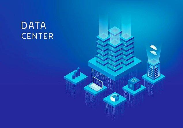 3. Günümüzde işletmeler kullandıkları ya da ürettikleri verileri depolamak, saklamak için bir veri merkezine ihtiyaç duyarlar.