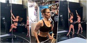 Ellisinde ve Hala Muhteşem! Yeni Filmi İçin Direk Dansı Yapan Jennifer Lopez, Genç Kadınlara Taş Çıkarıyor!