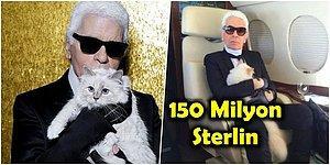 Bazen Sadece Kedi Olmak İstersin! Hayatını Kaybeden Modacı Karl Lagerfeld'in 150 Milyon Sterlinlik Mirasının Sahibi Kedi Choupette