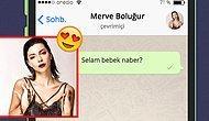 WhatsApp'ta Merve Boluğur'u Tavlayabilecek misin?