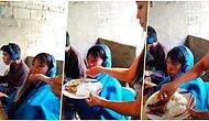 Yemek Yemek İçin Bile Ara Vermeden Sürekli Bilgisayar Oyunu Oynayan Oğlunu Elleriyle Besleyen Fedakar Anne