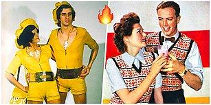 Nefis Uyum! 1970'lerde Çiftlerin Egzotik Tarzlarını Gösteren Retro Katalog Çekimleri
