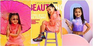 Kim Kardashian'ın 5 Yaşındaki Kızı North West İlk Dergi Kapağı Pozunu Verdi: Gelecekte Yönetim Çocuklarda Olacak