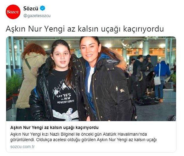 8. Aşkın Nur Yengi'nin uçağını kaçırma ihtimali bizi çok üzdü... 😂