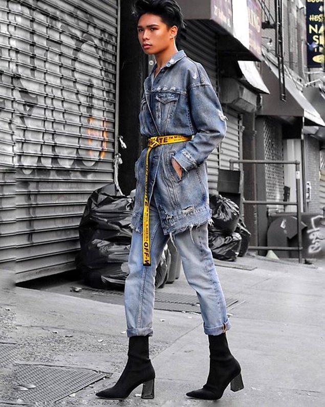 Ancak şimdi topuklu ayakkabılar, günlük erkek giyiminin bir parçası haline geliyor.