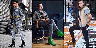 Boyunu Uzatmak İsteyenlere Müjde! Erkekler İçin Topuklu Ayakkabı Trendi Geliyor