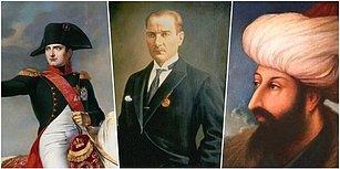 Mustafa Kemal Atatürk, Napolyon, Büyük İskender... Daha Savaş Alanına Ulaşmadan Düşmanlarına Korku Salmış Tarihin En Başarılı 300 Komutanı