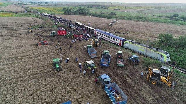 Tren şefi ve makinistler için takipsizlik kararı