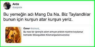 Osmangazi Üniversitesi'nin Yemekhanesinden Böcekli Yemek Çıktı, Sosyal Medya Karıştı!