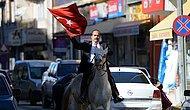 Bir Garip Başkan Adayı: Malatya Arapgir'de 'Dört Nala' Seçim Çalışması Yapan İbrahim Yurtsever