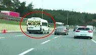 Okul Servisiyle Makas Atan Trafik Magandası!
