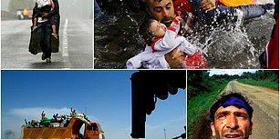 58 Yaşında Hayatını Kaybeden Pulitzer Ödüllü Foto Muhabir Yannis Behrakis'in Objektifinden 15 Çarpıcı Kare