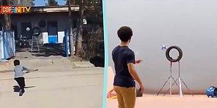 7 Yaşındaki Çocuk, Salah'ın Vuruşlarını Yapabiliyor