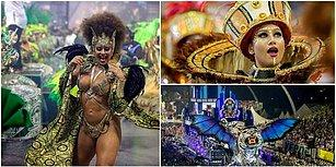 Eğlencenin Kalbi! Her Yıl Milyonlarca İnsana Ev Sahipliği Yapan Rio Karnavalı Sokakları Renklendirmeye Başladı