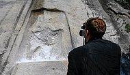 3.200 Yıllık Karabel Kaya Kabartması, Defineciler Tarafından Tahrip Edildi