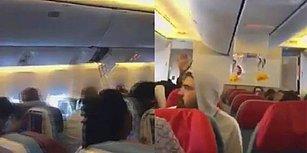 İstanbul-New York Seferi Yapan THY Uçağının Türbülansa Girmesinin Ardından Uçak İçinde Kaydedilen Korkutucu Görüntüler!