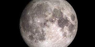 NASA'nın Yaptığı Son Araştırmalarda Ay'ın Yüzeyinde Hareket Eden Su Molekülleri Bulundu