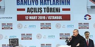 Ve Gebze-Halkalı Banliyö Hattı Açıldı: 'İstanbullulara 1 Saat 10 Dakika Kazandıracak'