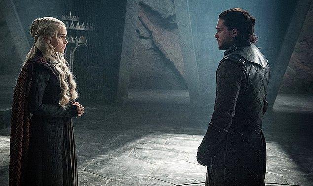 1. Game of Thrones'un final sezonundaki bölüm uzunlukları belli oldu.