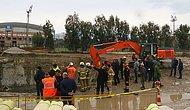 İzmir'de Yeraltı Park Alanı İnşaatında Göçük: İki Kişiyi Arama Çalışmaları Sürüyor