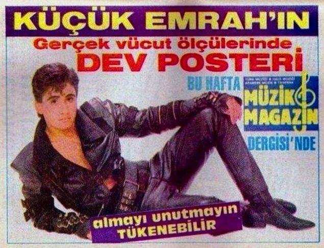 Filmleri yıllarca rekorlar kırdı. Evinde video oynatıcısı olan herkesin bir tane de muhakkak Emrah'ın VHS kaseti vardı. Fakat zaman yerinde durmuyordu. Emrah büyümüş, bu sefer de genç kızların sevgilisi haline gelmişti.