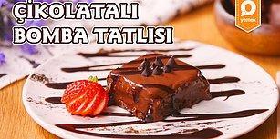 Çikolata Krizi Anında Başvuracağınız İlk Çare: Çikolatalı Bomba Tatlısı Nasıl Yapılır?