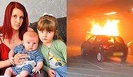 Anne Yüreği Dayanır mı? Alevler İçerisinde Kalan Çocuklarını Kurtarmak İçin Hayatının En Zor Seçimini Yapmak Zorunda Kalan Anne