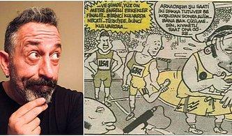 Esprilerini Ezbere Bildiğimiz Cem Yılmaz'ın 1990'lı Yıllarda LeMan Dergisi İçin Çizdiği Pek Bilinmeyen Karikatürleri