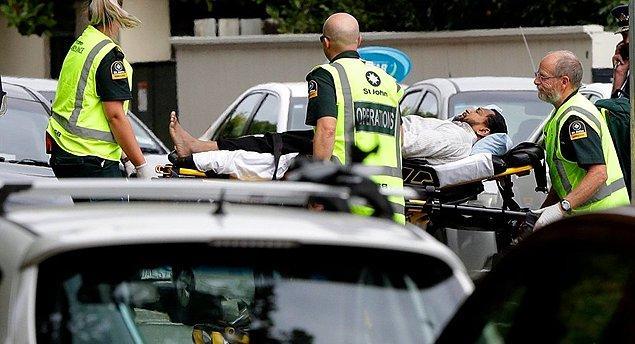 """Yeni Zelanda polisi, ülkedeki bütün camilere """"kapınızı kapatın"""" uyarısında bulundu."""