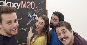 Alper Rende ve Onedio Fenomenleri Galaxy M20'yi İnceliyor!