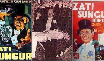 Biz Bilmiyorduk Ama Tüm Dünya Zati Sungur'u Tanıyordu, Gelmiş Geçmiş En Büyük Sihirbaz Bir Türk'tü!