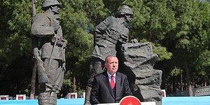 Erdoğan'dan Çanakkale Mesajı: 'Kimi Ayakları Üzerinde Kimi Tabutla Geri Döndü'